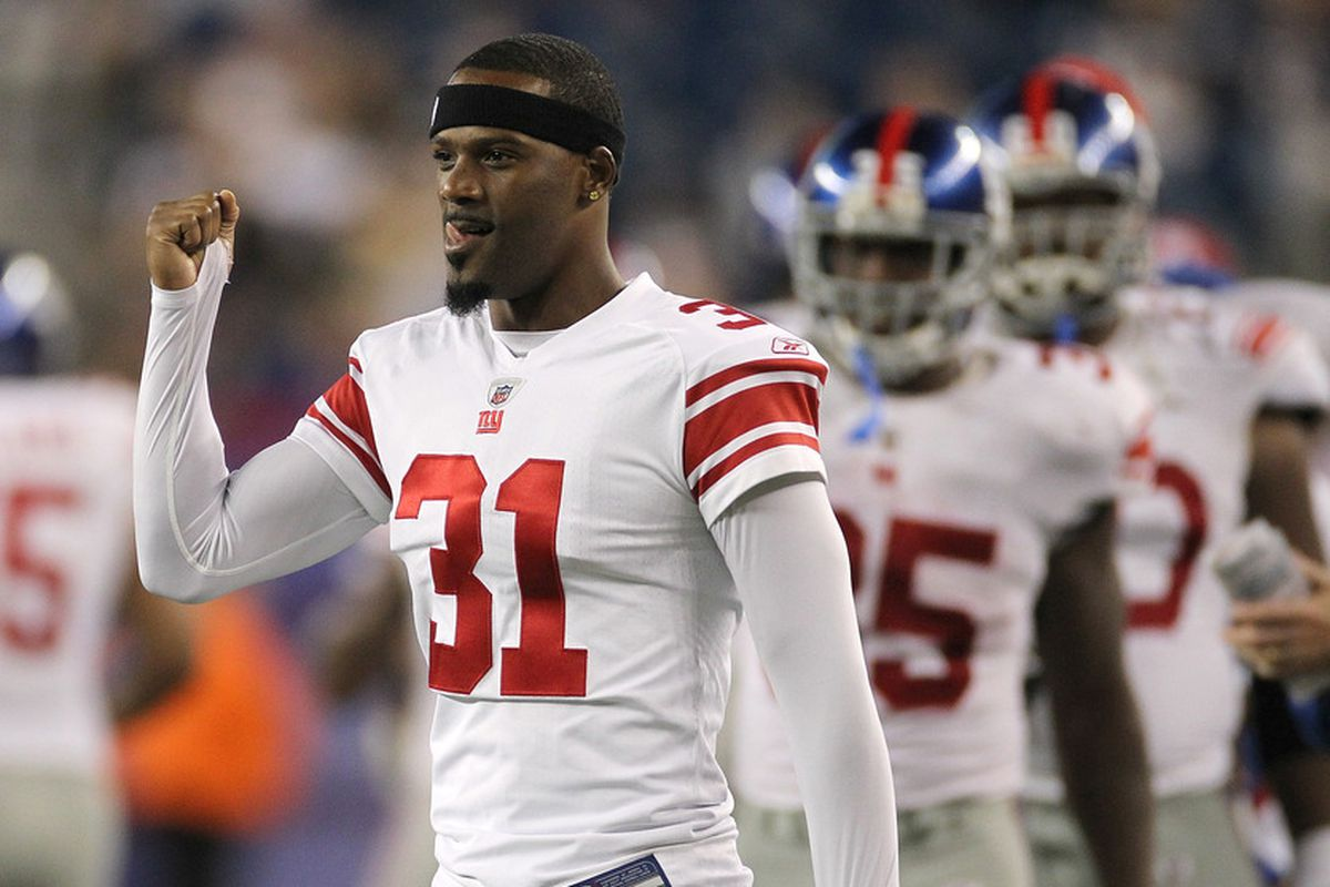 Aaron Ross is happy to be back with the Giants