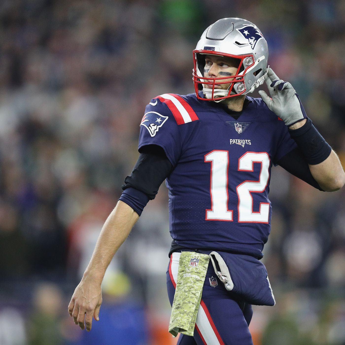 Patriots will wear alternate color rush uniforms three times in ...