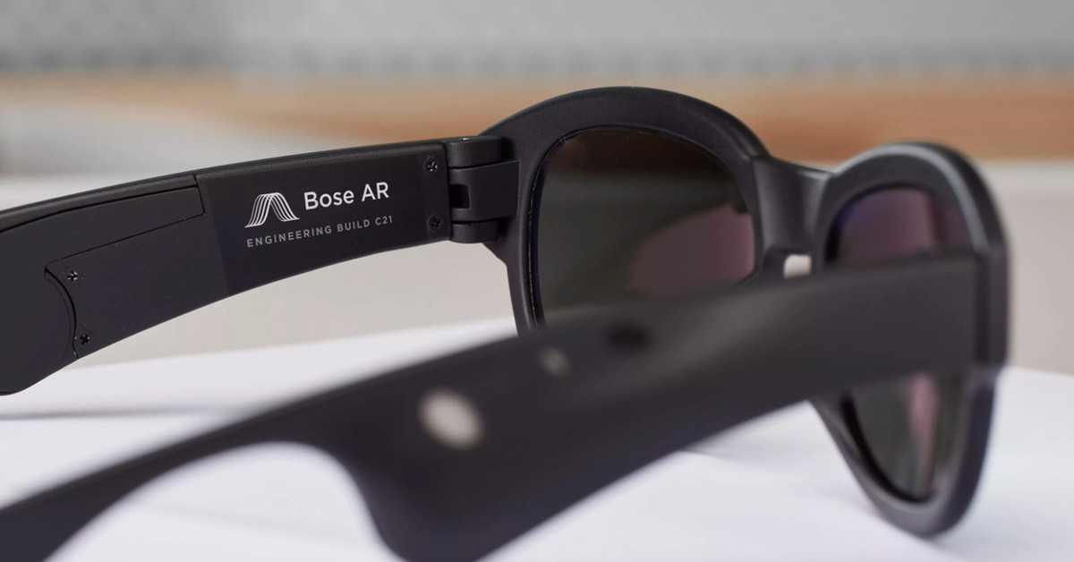 Bose is Developing Augmented Reality Glasses with a Focus on Sound