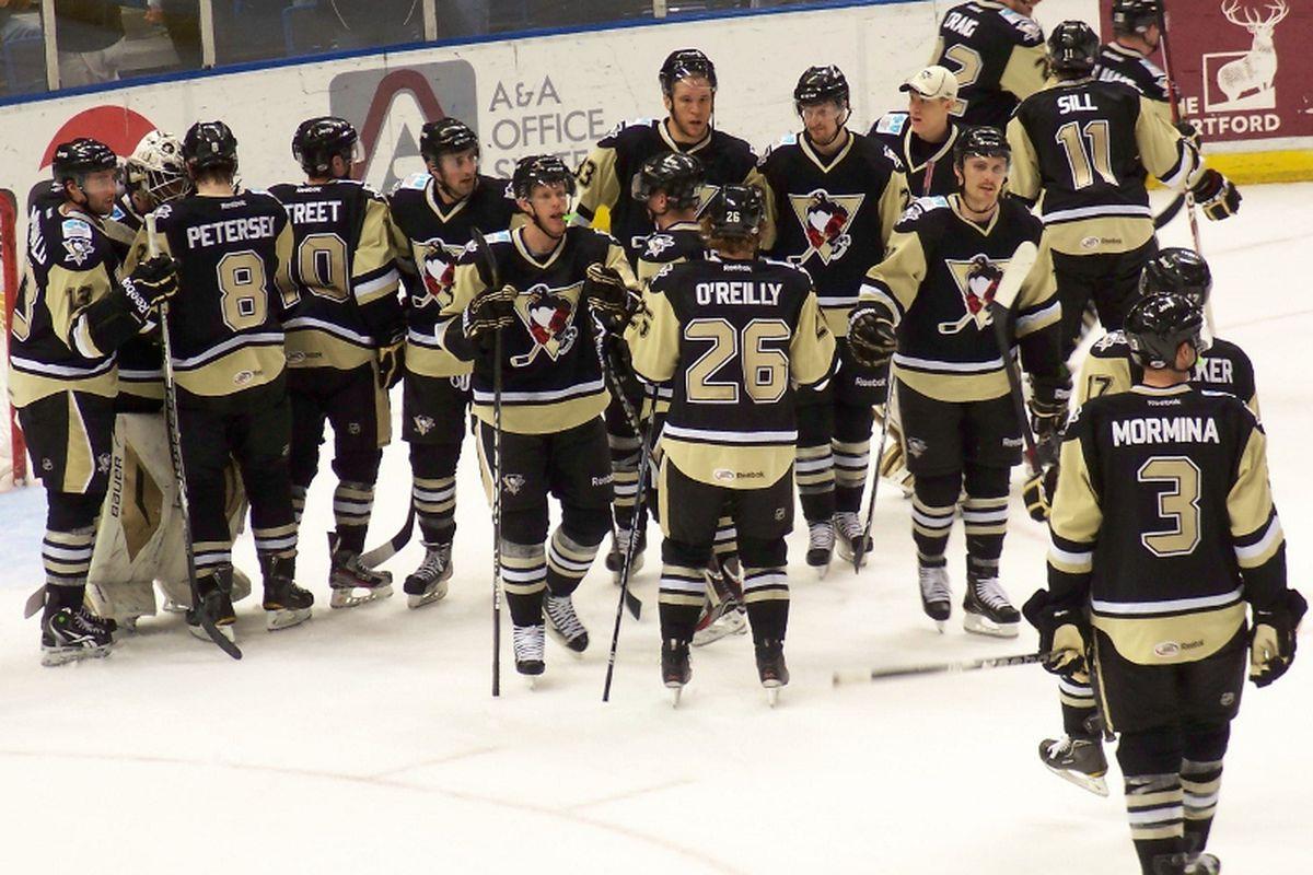 Penguins March Toward Calder Cup