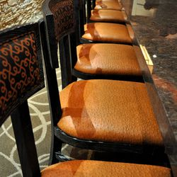 Bar stools at McCall's Heartland Grill.