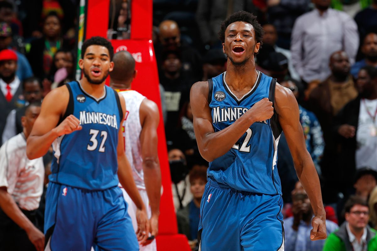 Andrew Wiggins And Karl Anthony Towns Are Making The