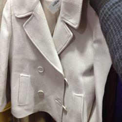 $150 white pea coat