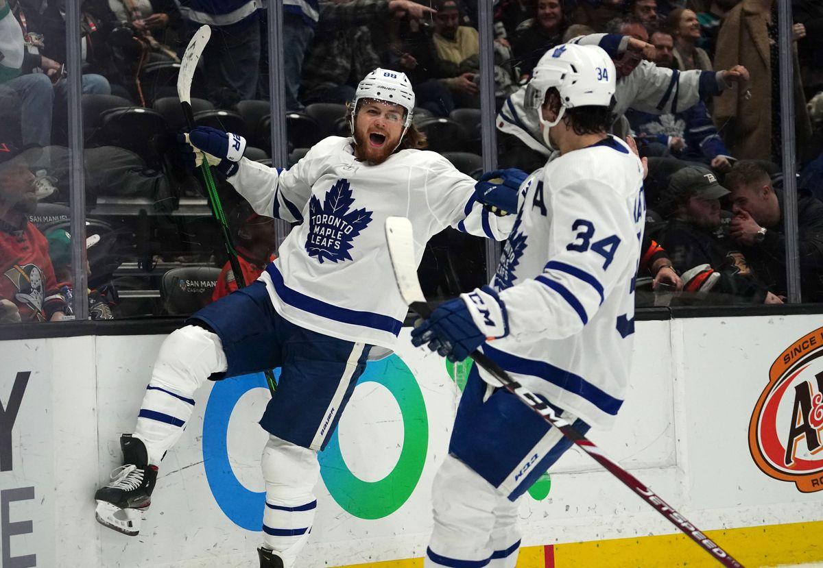 NHL: Toronto Maple Leafs at Anaheim Ducks