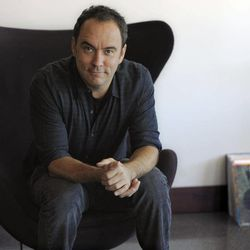 """FILE - In this Aug. 24, 2012 file photo, Dave Matthews poses for a portrait at Capitol Records in Los Angeles. The Dave Matthews Band's new album, """"Away From the World"""" releases Sept. 11, 2012."""