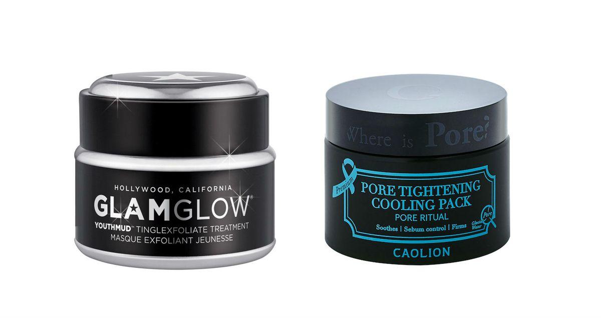 Glamglow Youthmud Tinglefoliate Mask and Caolion Original Pore Pack