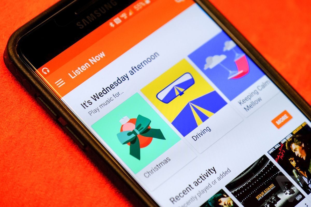 Discover the latest music with New Release Radio on Google Play Music