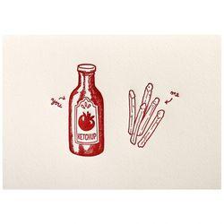 Greer - Gilah Press Ketchup And Fries ($5)