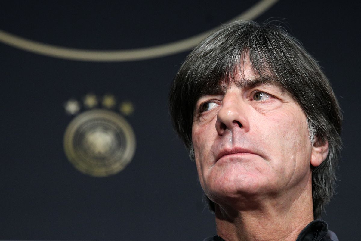 Team Germany gives press conference ahead of friendly football match against Russia