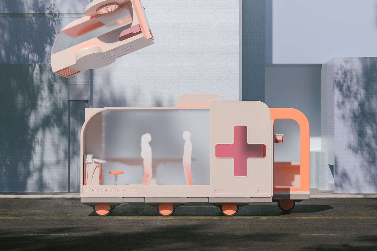 Driverless cars of the future, as imagined by Ikea's Space10