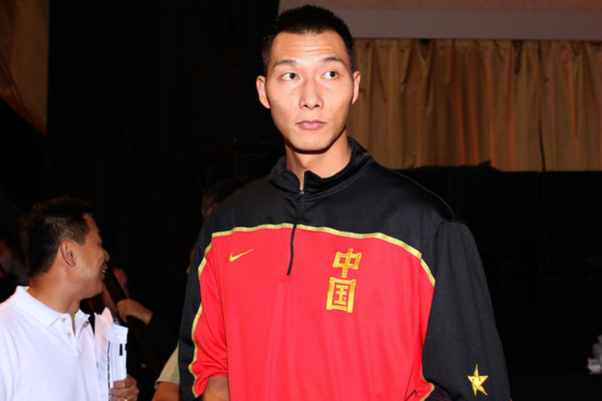 """Yi Jianlian kinda messed up the whole """"Let's Have A Productive 2007 NBA Draft Class"""" thing for the Milwaukee Bucks."""