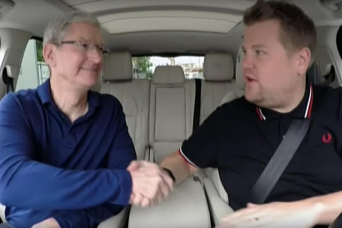 "Tim Cook's ""Carpool Karaoke"""