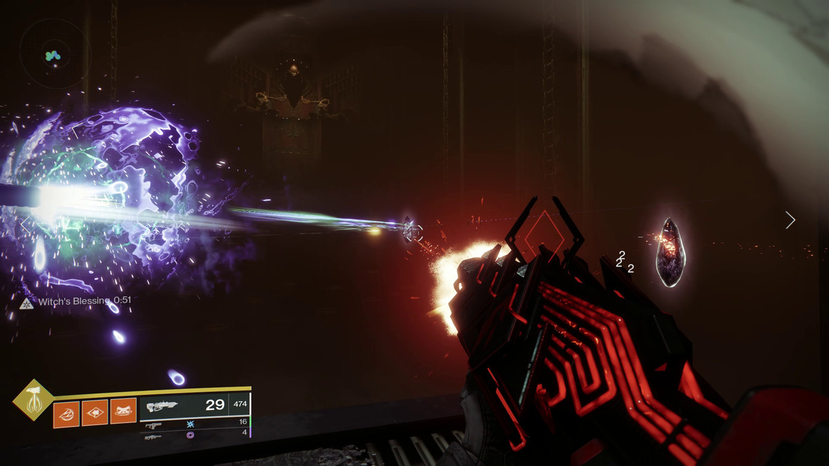 Destiny 2: Crown of Sorrow - Jumping puzzle (Second