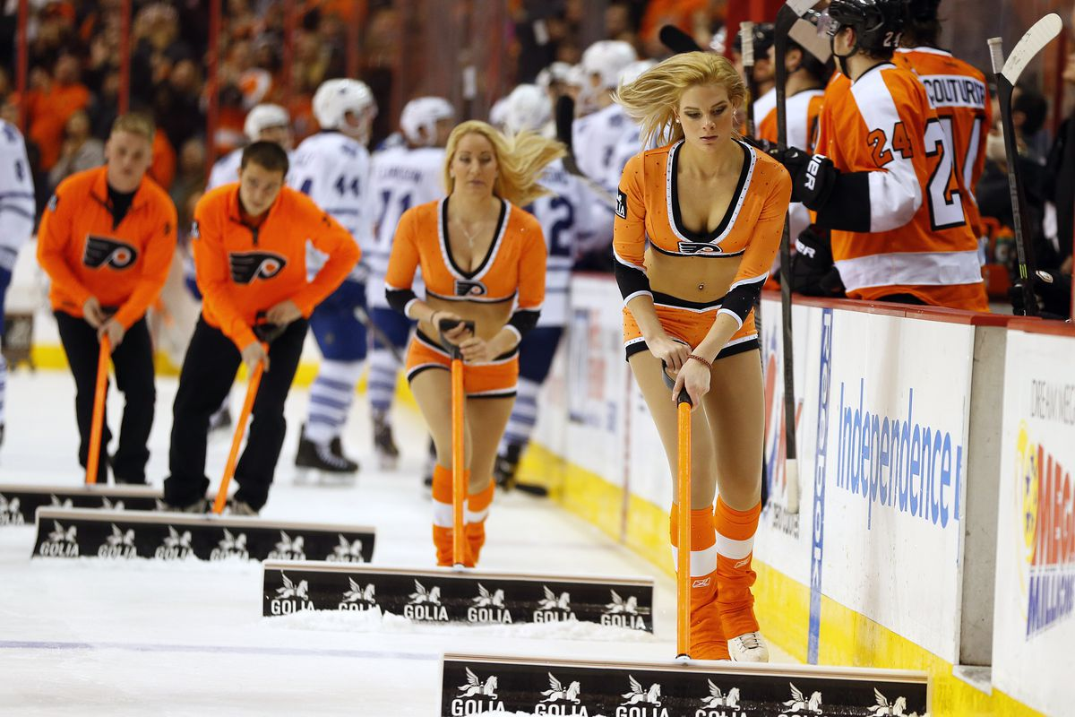 Flyers Handling Of Ice Girls Situation Leaves More Questions Than Answers Broad Street Hockey
