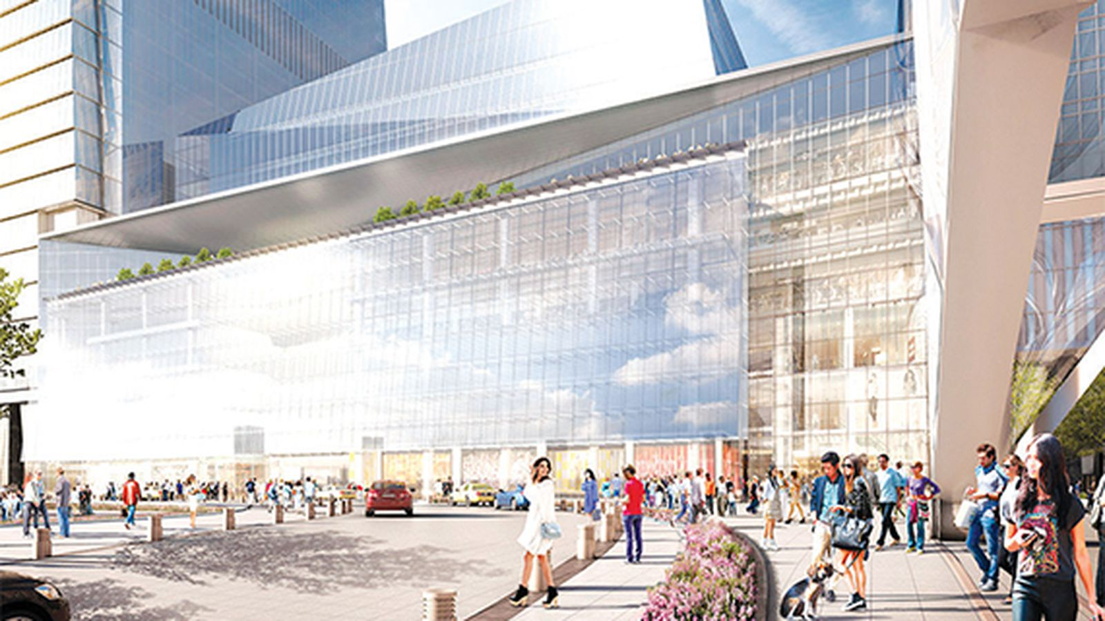 hudson yards is also getting a high end food court eater ny. Black Bedroom Furniture Sets. Home Design Ideas