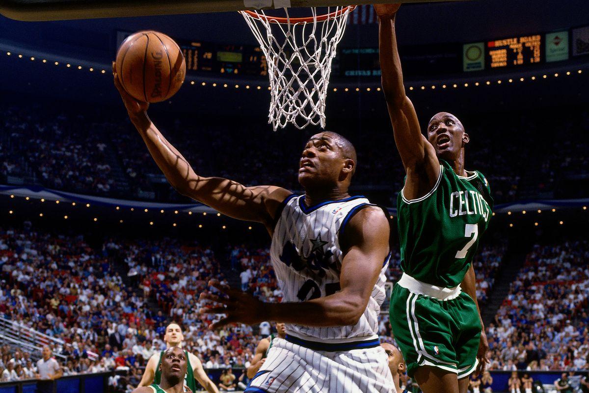 1995 NBA Playoffs: First Round - Game One: Boston Celtics v Orlando Magic