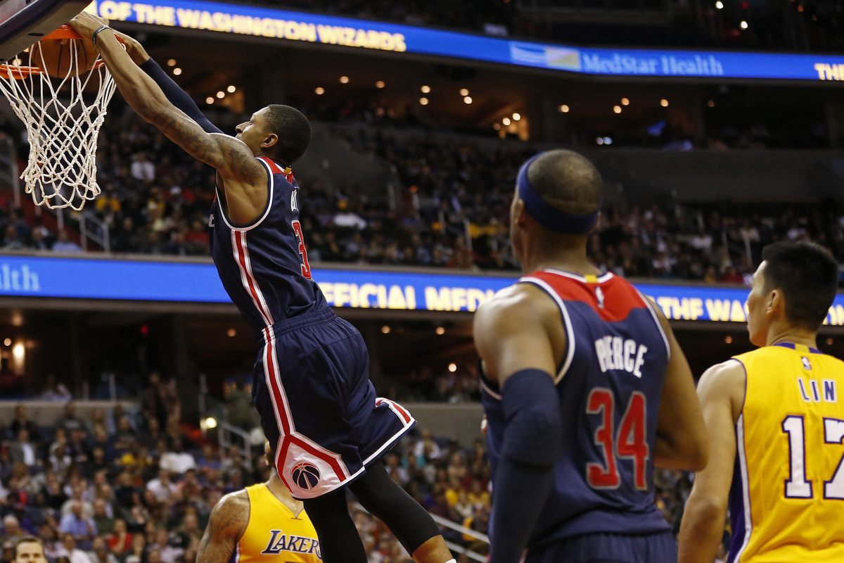 Wizards vs. Lakers: Washington blows out L.A., 111-95 ...