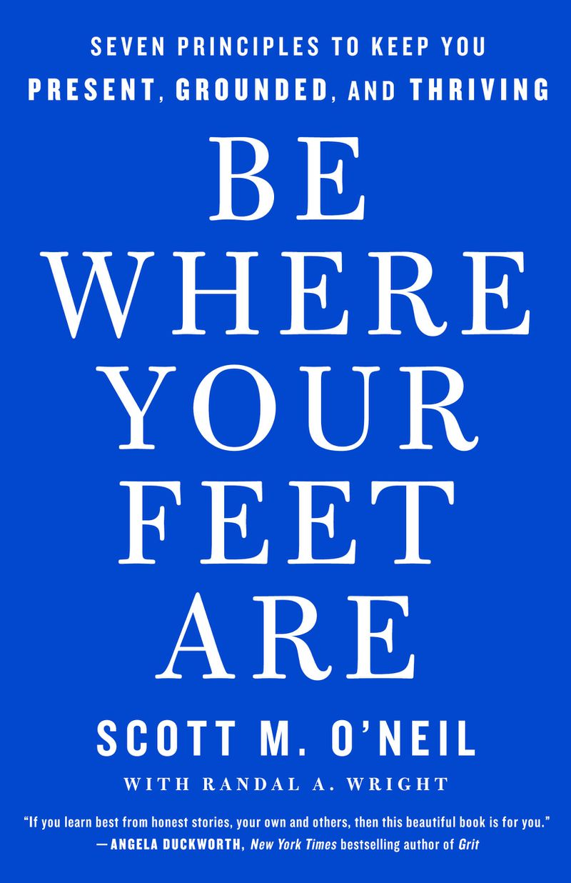"""Philadelphia 76ers' CEO and Latter-day Saint Scott O'Neil is the author of """"Be Where Your Feet Are."""""""