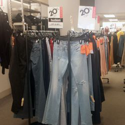 Denim from Hudson, J Brand and other luxe brands are 20% off.