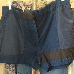 Acne Shorts, $50