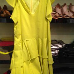 Flutter-sleeve dress, $79