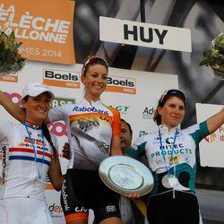 2014 Flèche Wallonne podium