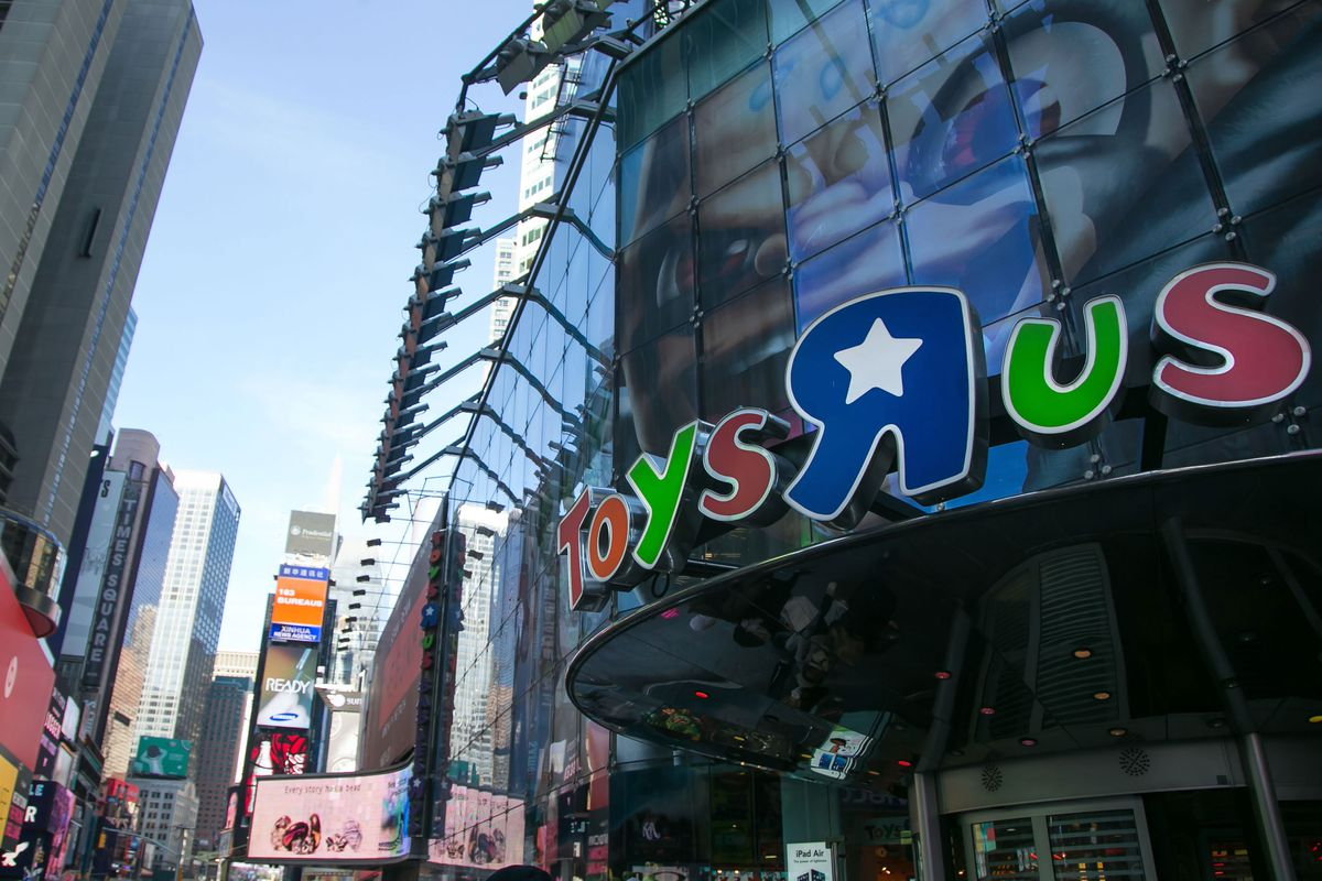 The Times Square flagship