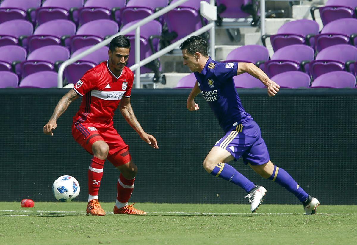 MLS: Orlando City SC vs. Chicago Fire