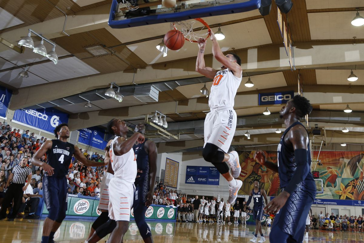 NCAA Basketball: Maui Invitational- Georgetown vs Oklahoma State