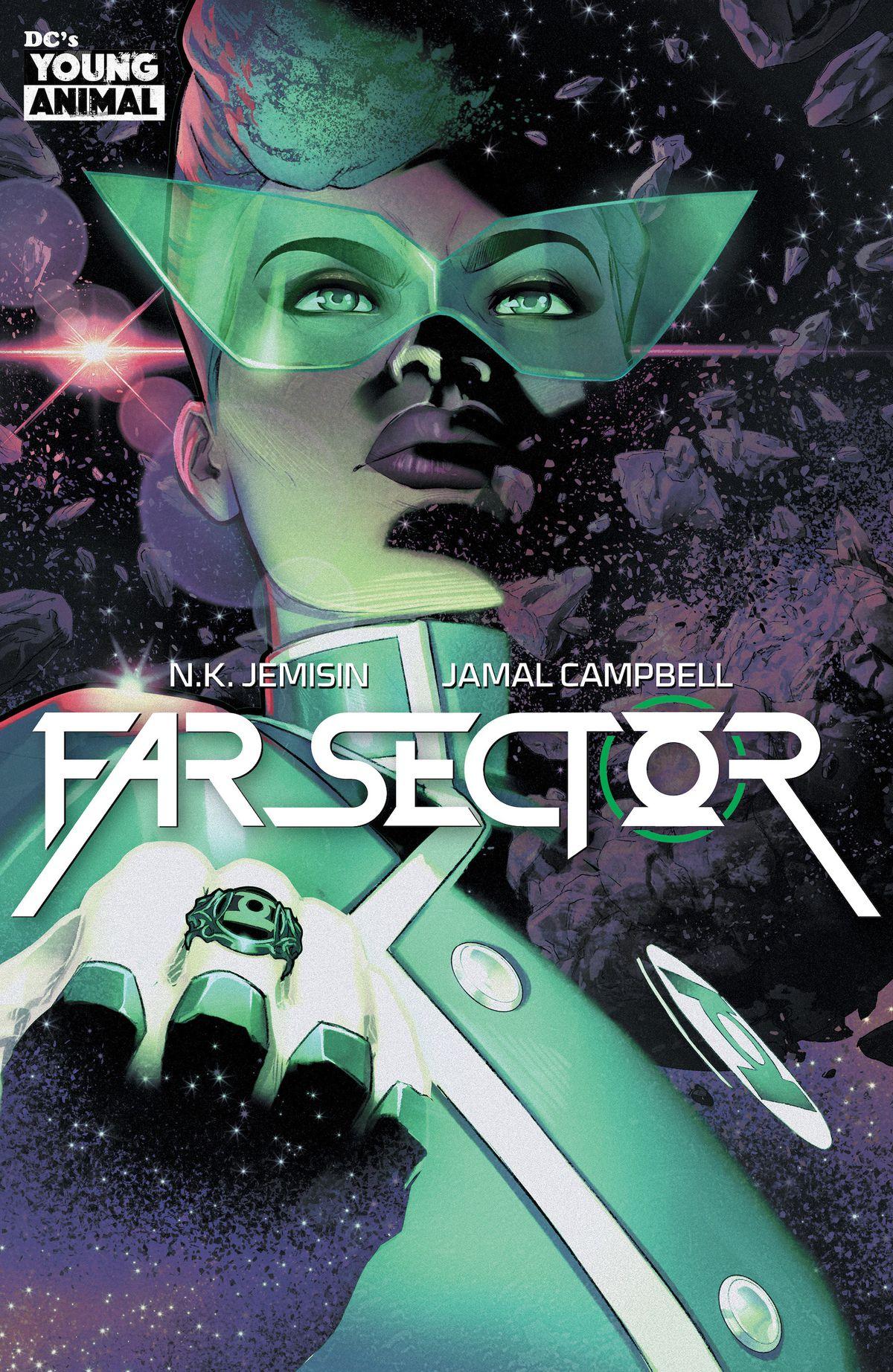 Promo art for Far Sector, DC Comics (2019).