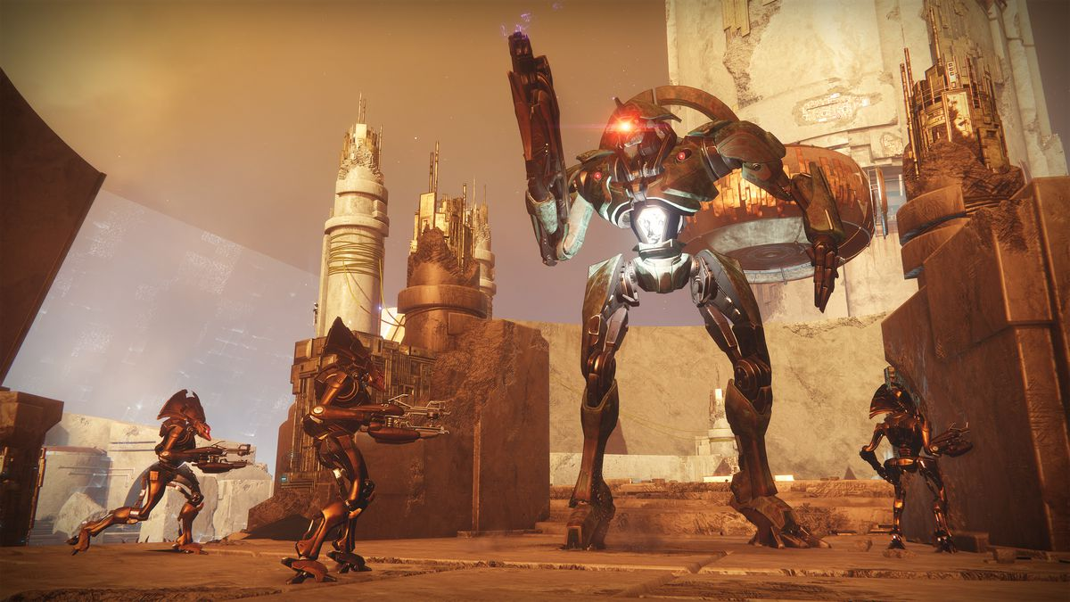 Destiny 2: Curse of Osiris - Vex Gate Lord on Mercury