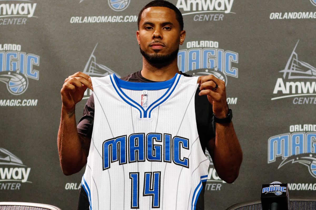 D.J. Augustin introduced in Orlando