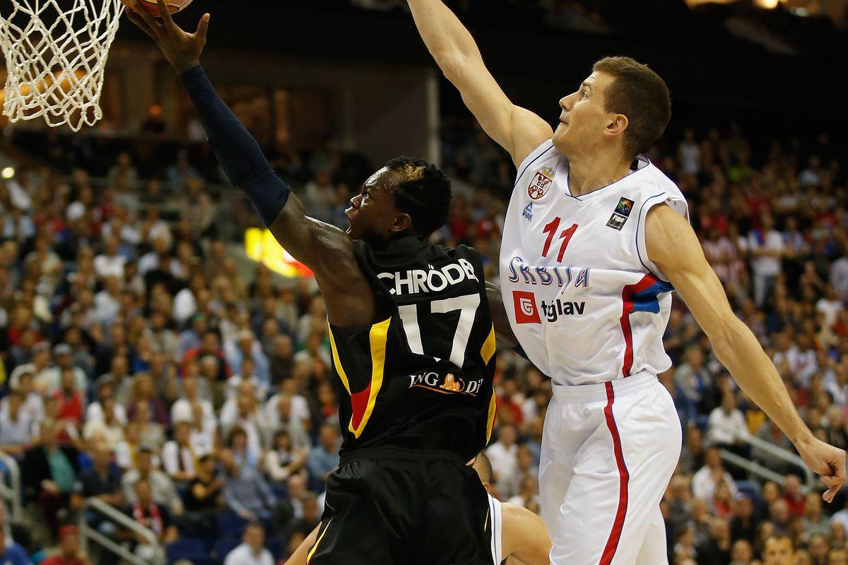 Serbia v Germany - FIBA Eurobasket 2015
