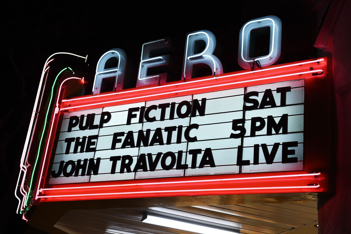 """American Cinemathque Presents A John Travolta Double Feature Of """"Pulp Fiction"""" And """"The Fanatic"""""""