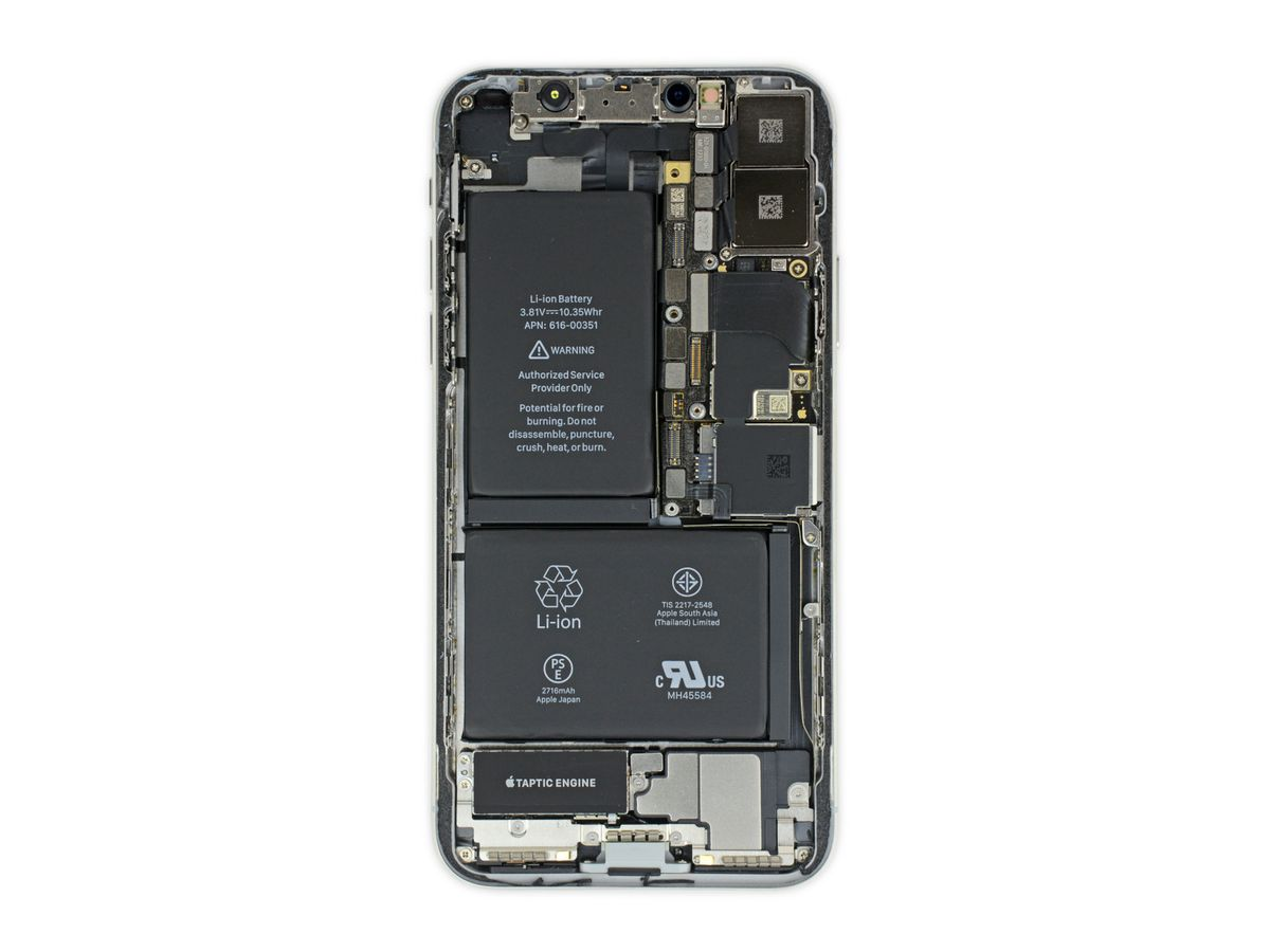 iphone x display ifixit