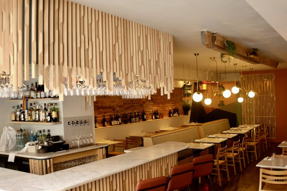 West Village Natural Wine Bar And French Restaurant L
