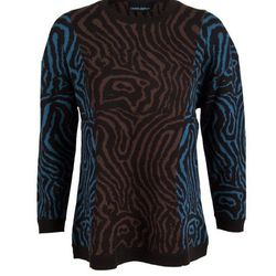 Pieced Wood Grain Sweater, on sale for $119