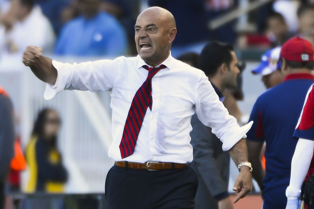 Chelís: Made quick fixes following loss.