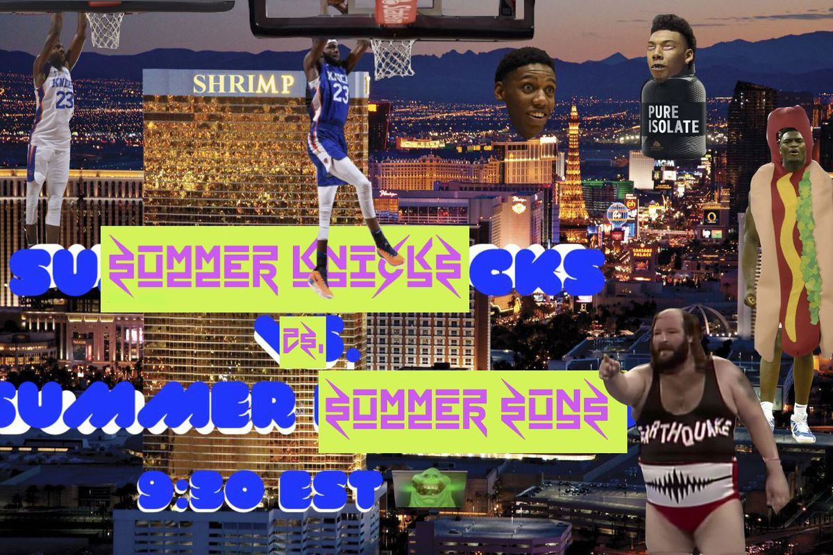 Game Preview: Summer Knicks vs. Summer Suns- 07/07/19