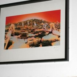 Storm's art for the Led Zep album, Houses of the Holy