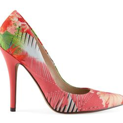Aldo Frited high heel, $80. Available at Aldo in Water Tower Place or Oakbrook Center