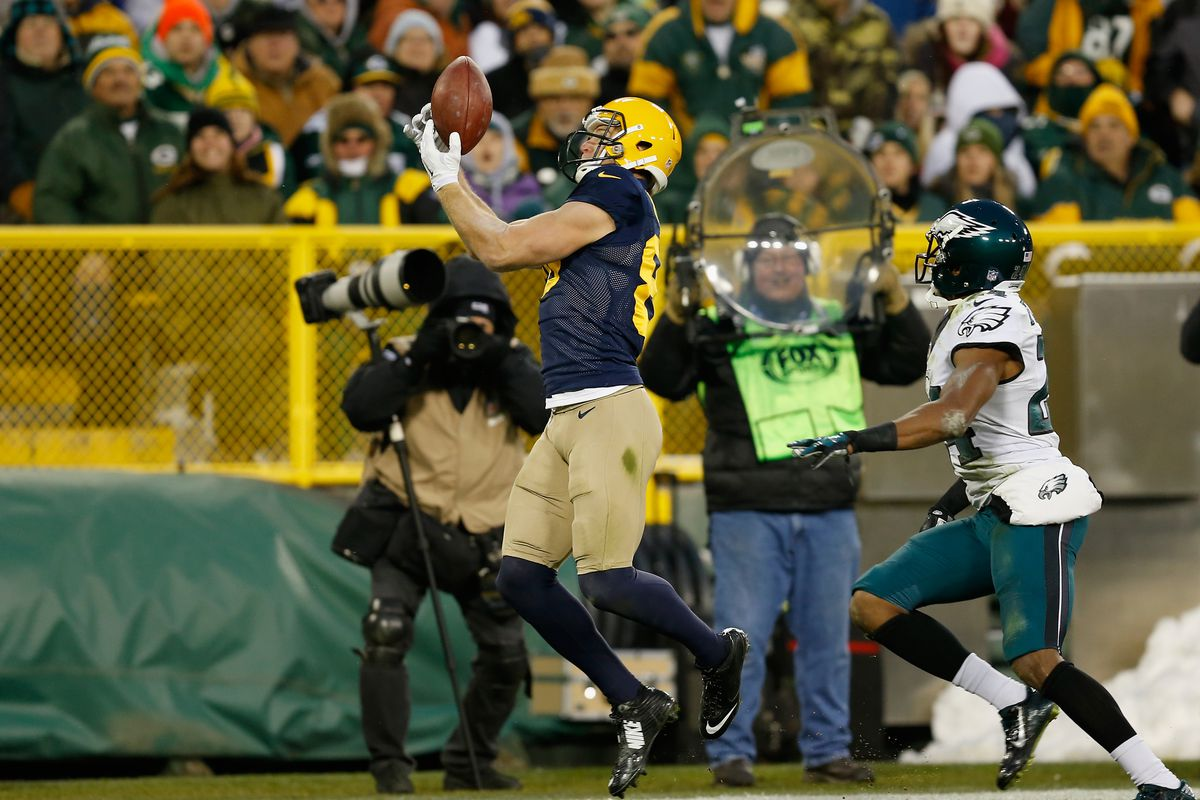 On Sunday, Jordy Nelson had his fifth 100-yard game and ninth touchdown in what is shaping up to be a Pro Bowl season.