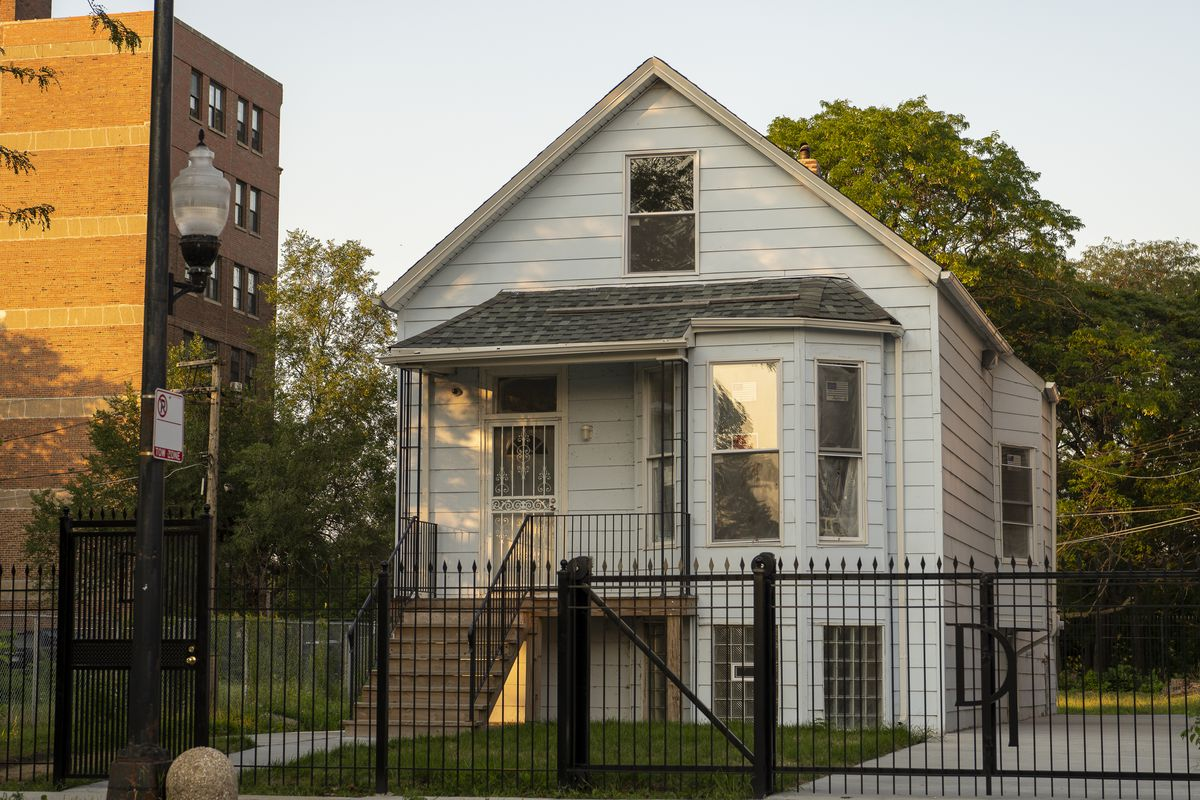 Kanye West's boyhood home is in the South Shore community.