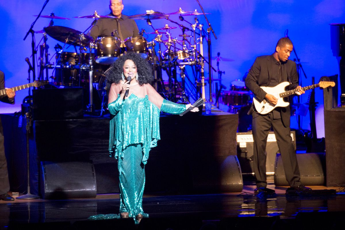 Diana Ross performs at Ravinia in 2016.