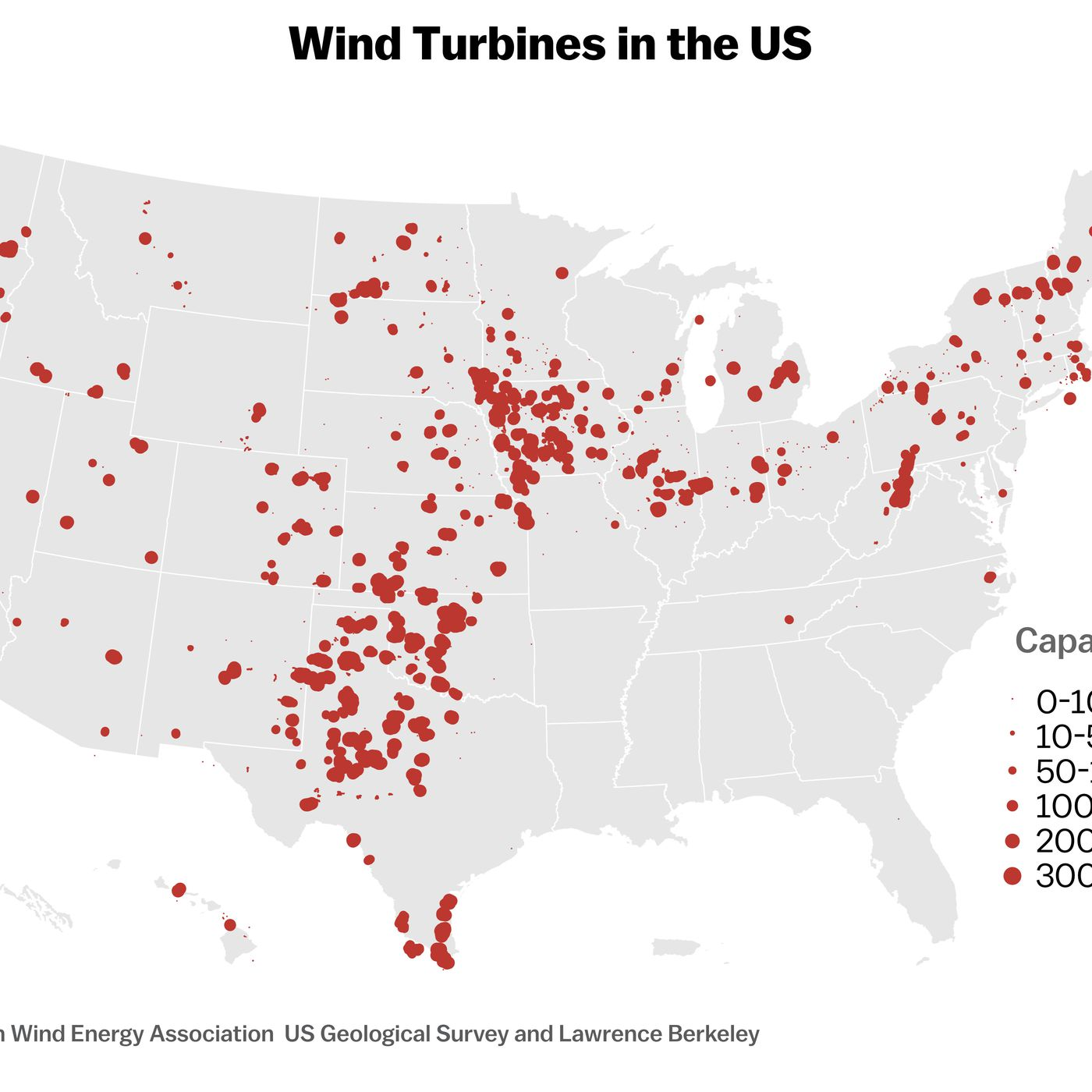 Wind Energys Lopsided Growth In The Us Explained With 4 Maps Vox How Do Turbines Generate Electricity Video Energy Powers