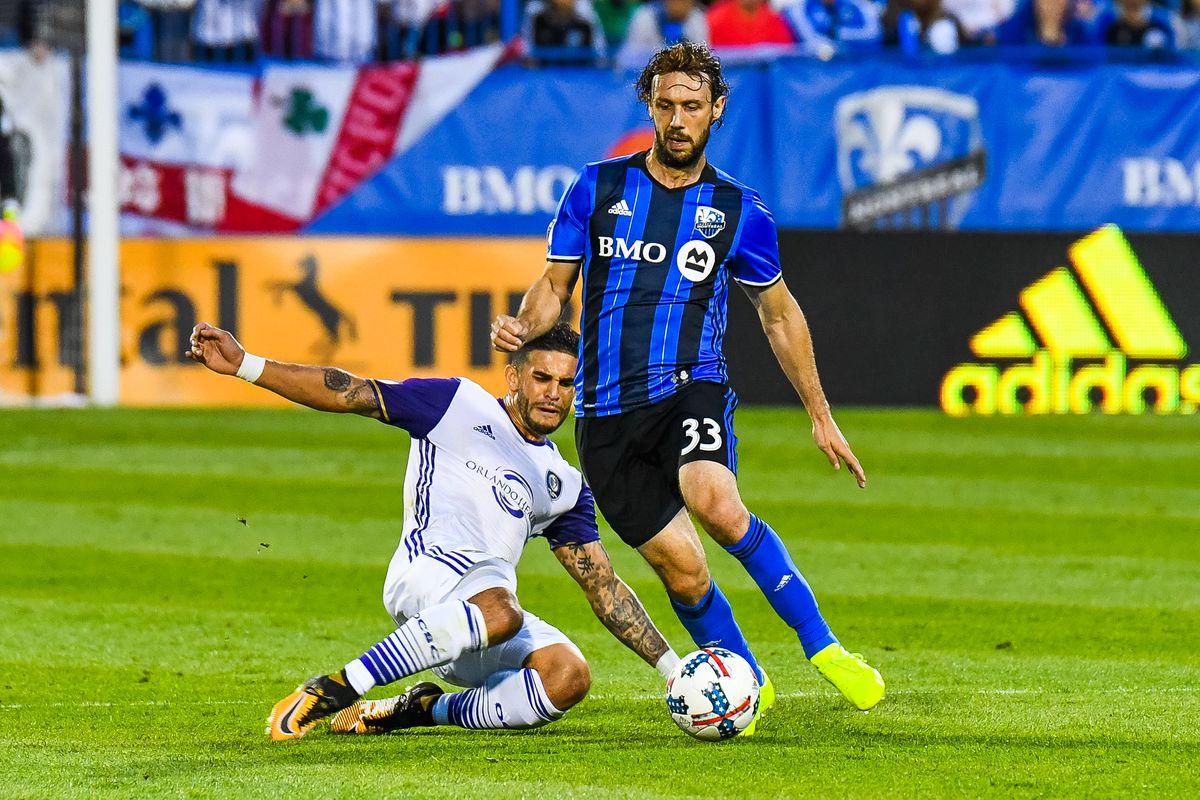 SOCCER: AUG 05 MLS - Orlando City SC at Montreal Impact