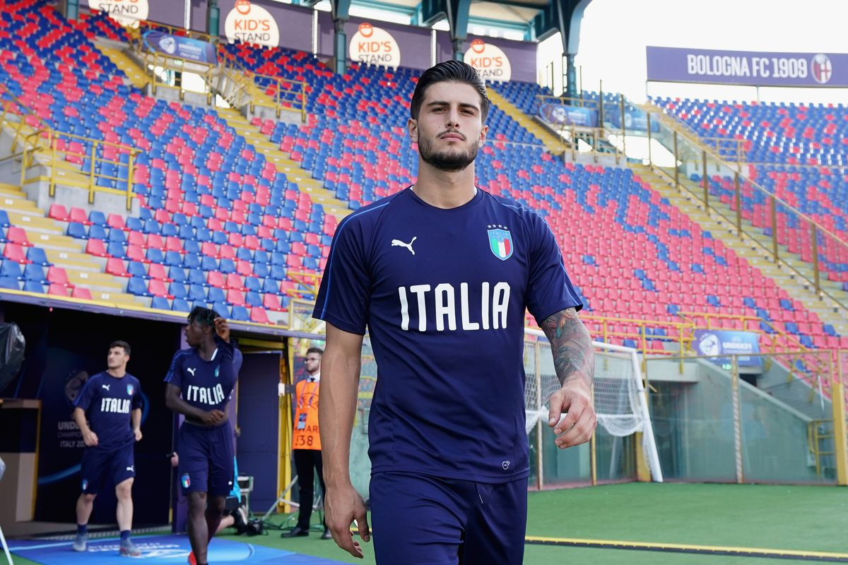 Italy U21 Training Session & Press Conference