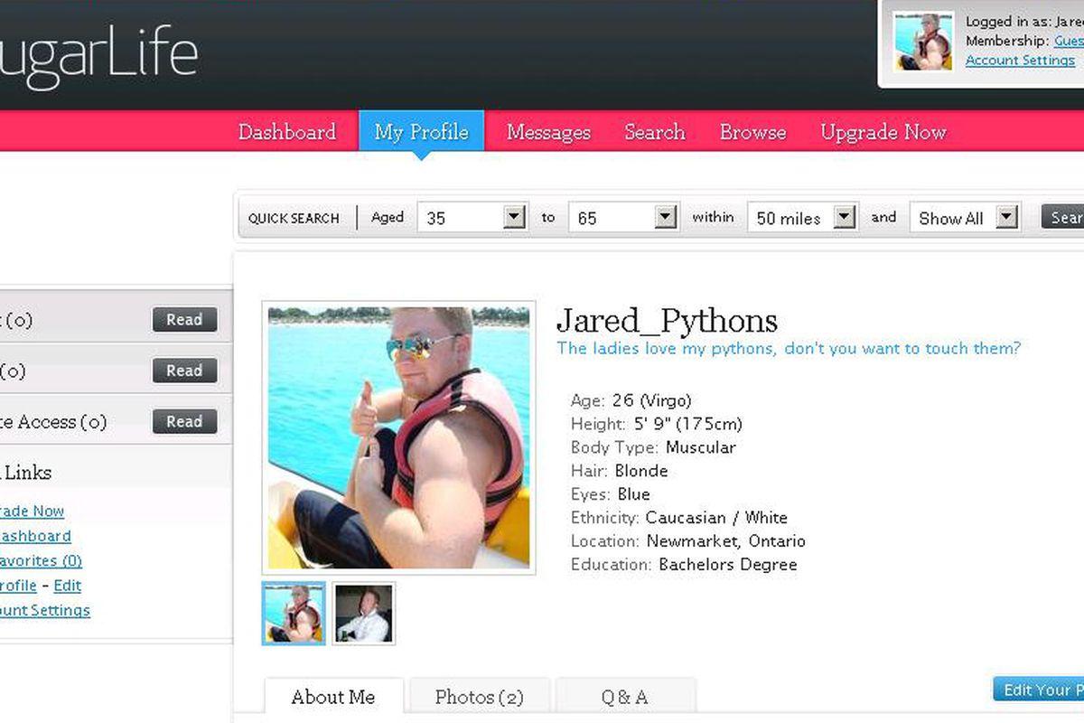 Jared Pythons on Cougar Life