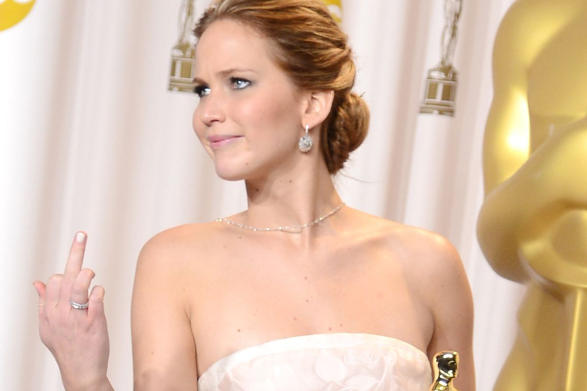 Jennifer Lawrence doesn't care if you like her if it means getting equal pay.