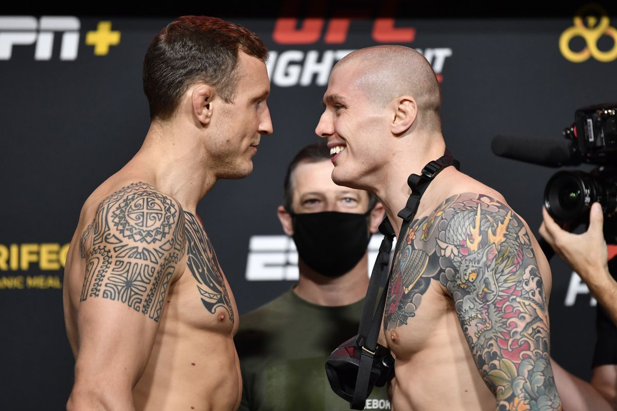 UFC Fight Night Hermansson v Vettori: Weigh-Ins